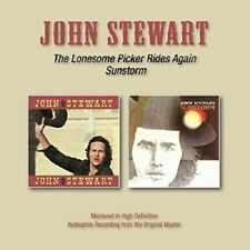 John Stewart The Lonesome Picker Rides Again/Sunstorm 2on1 CD NEW SEALED 2016