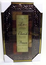Love - Cherish - Dream   Inspirational Wall Picture, Wall Plaque (NEW)