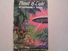 Planet of Light by Raymond F Jones 1st Edition 1953