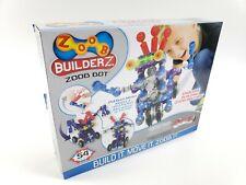 ZOOB BuilderZ ZOOB Bot Pull-Back Motor Moving Modeling System, 54 Piece Kids