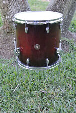 "GRETSCH 14"" CATALINA MAPLE FLOOR TOM in CHERRY BURST for YOUR DRUM SET! #A760"