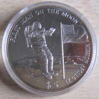 Liberia 5 Dollars 2000 Mondlandung von Apollo XI
