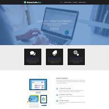 Premium Online Traffic Reseller Business Website