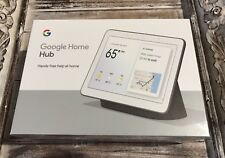 "New Google Home Hub w/Google Assistant Smart 7"" Display GA00515-US Charcoal"