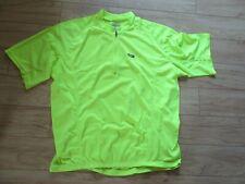 3Xl Men's Louisgarneau Neon Yellow Biking Bib Shirt Short Sleeve