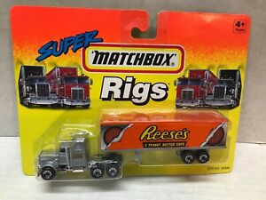 VINTAGE 1994 MATCHBOX SUPER RIGS REESE'S TRACTOR TRAILER  SEALED