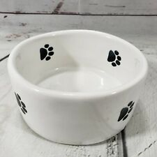 Trends Dog Bowl Lead Free Made In USA Pet Paws 1991 EUC Excellent Used Condition