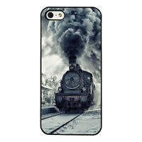 Steam Locomotive Train plastic phone case fits iPhone