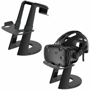 For PS4 PSVR HTC Vive Oculus Rift Universal VR Headset Stand Holder Organizer