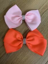 Set Of 2 Bows Hair Clips