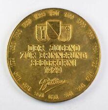1929 Der Jugend Zur Erinnerung Seegfrörni (Brillian) Medal Medallion