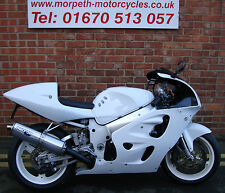 Cool white Suzuki GSXR 750 X cafe racer    *** SOLD ***
