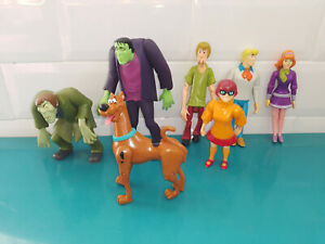 19.9.1.1 Lot FIGURINES SCOOBI DOO 11cm Scooby-Doo