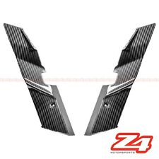 2010-2013 Z1000 Front Fork Suspension Cover Side Nose Fairing Cowl Carbon Fiber