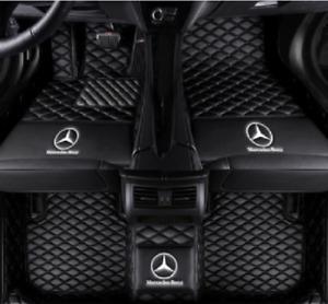 Custom For Mercedes-Benz E280 E300 E320 E350 E400 E450 Car Floor Mats 2001-2021