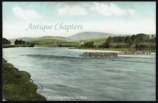 More details for c.1910 eel fishery killaloe county clare postcard d824