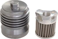 FLO Spin On Stainless Steel Oil Filter PC Racing PCS1