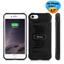Akku Hülle Power Case Zusatzakku 3000mAH Batterie Power Pack Für iPhone 6 6S 7