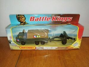 Matchbox Battlekings K-116 Truck and Gun