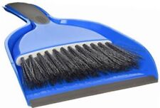 1~ Small Broom with snap-on dust pan, colors may vary