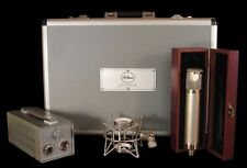 New Peluso P12 Vacuum Tube Microphone System P-12 Mic w/PSU, Case, Shockmount