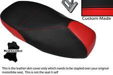 Rojo Y Negro Custom encaja Piaggio Vespa 125 Gt 1 Gts 250 300 Doble Cubierta De Asiento