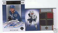 07 08 ULTIMATE COLLECTION MARKUS NASLUND AUTO JERSEY 50