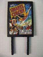 Billy Smart's Circus - Model Railway Billboard - N Gauge, OO Gauge & O Gauge