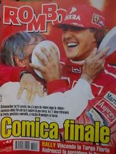Auto & Sport ROMBO 47 1997 Rally Targa Florio vince Andreucci con Renault