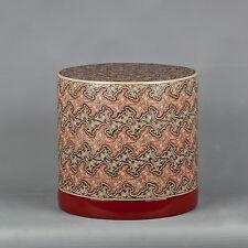 """Beautiful Burmese Lacquerware 'Cloud' Betel Nut or Trinket Box - 20.5cm / 8"""""""
