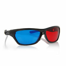 ANAGLYPH PLASTIC 3D GLASSES RED / BLUE Dimensional Games Movies Pictures Magazin