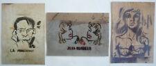 3 CARTES POSTALES «GRAFFITI» - J. TARDI / JC FOREST / W. MINUS
