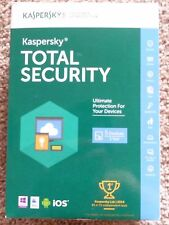 Kaspersky Total Security 2016 for PC Mac Android 1 Year 5 Devices
