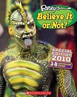 Ripley's Believe It or Not! 2010 by Inc. Staff Scholastic (2009, Hardcover,...