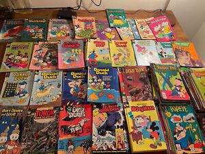 Huge Lot of 250 plus Vintage Comics Whitman UFO Uncle Scrooges Donald Duck NR!