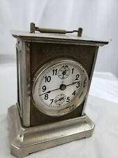 Heavy Antique Germany Table Clock, not tested, with key