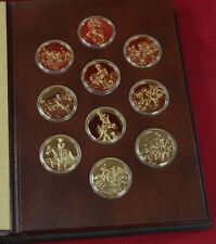"""Franklin Mint """"The Greatest Art of the American West"""" Proof Complete Medal Set"""