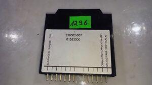 DAEWOO REZZO 2001 LHD 2.0i 89 KW LPG FUEL INJECTOR CONTROL MODULE 238002007