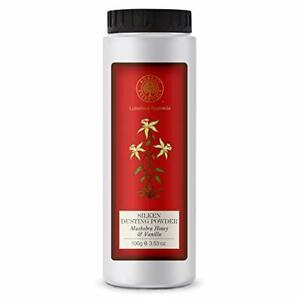 Forest Essentials Silken Dusting Powder Mashobra Honey & Vanila 100gm