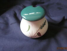 DENBY BOURNE GREENWHEAT MUSTARD POT  GOOD CONDITION