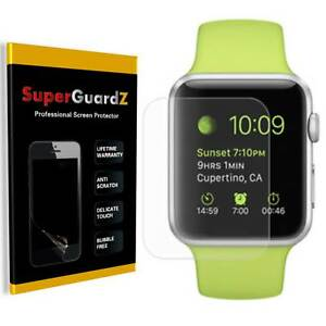 SuperGuardZ Clear FULL COVER Screen Protector For Apple Watch Series 4 (44 mm)