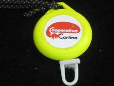 Vintage Cooperativa CORTINA Dolomiti SUPERSKI Retractable Pass Holder~Germany