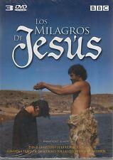 DVD -  Los Milagros De Jesus NEW Contiene 3 DVD's FAST SHIPPING!