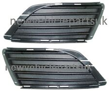 VAUXHALL CORSA C 2003-2006 FRONT BUMPER FOG GRILLE PAIR LEFT & RIGHT NEW
