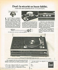 PUBLICITE ADVERTISING 065  1975  DUAL   hi-fi  chaine KA 460
