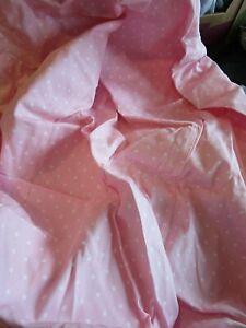 Pottery Barn Kids beanbag pink hearts  slipcover photo shoot sample