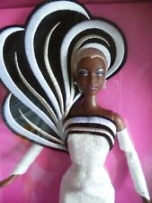 Bambola Barbie NRFB 45° Anniversario Bob Mackie Afro American 2003 new in box