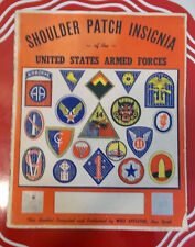 Shoulder Patch Insignia - United States Armed Forces Wolf Appleton Catalogue