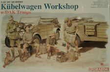 1/35 WWII German Kubelwagen Workshop with figures by Dragon 6338
