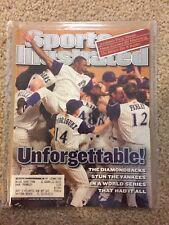 Diamondbacks Win the World Series Sports Illustrated, November 12, 2001